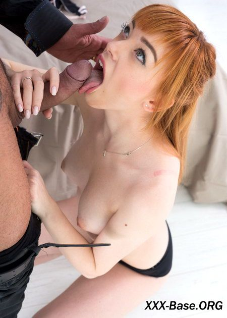 Red Head Russian Teen Aurora Cheats On her Boyfriend